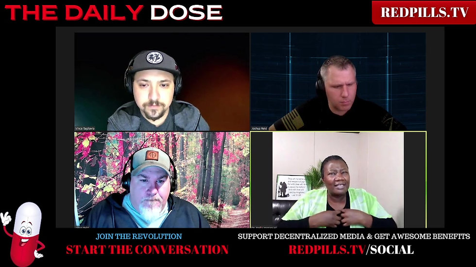 Redpill Project Daily Dose  Episode 244 | Medical Tyranny or Freedom?