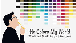 He Colors My World