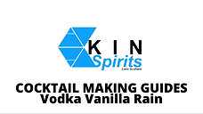 Cocktail 4: VODKA VANILLA RAIN