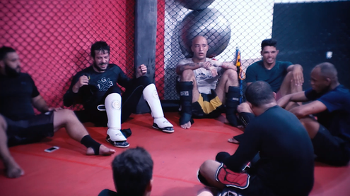 Treino de MMA