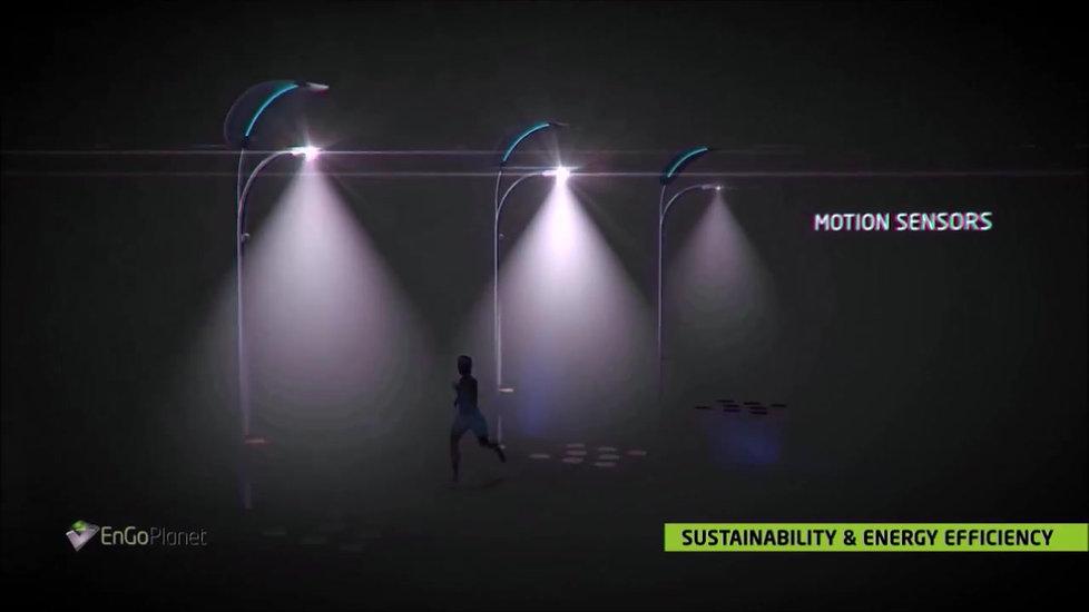 Smart Solar Street Light by EnGoPlanet