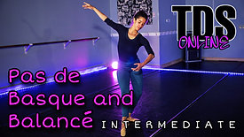 Pas de Basque and Balance - Intermediate - Koura Wright