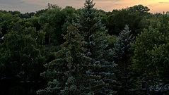 Rainy Sunset Over St. Paul, MN
