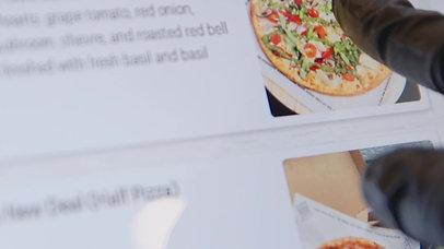 Pizza Press // Instagram Story