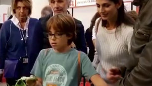 Biodata@Maker Faire 2019 con Virginia Raggi