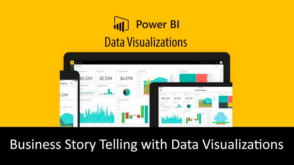 Business Story Telling with Data Visualizations
