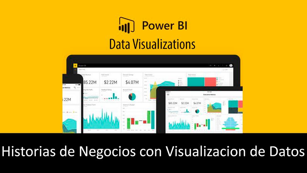 Historias de Negocios con Visualizacion de Datos