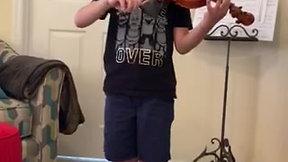Sawyer Haenel -- violin