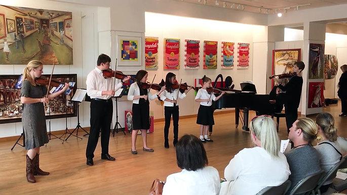 Suzuki Honors Concert Violins2020