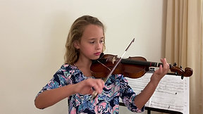Lila Lavezzoli -- violin