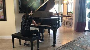 Alana Schreibman, Hungarian Op. 39 No. 12 by Edward MacDowell