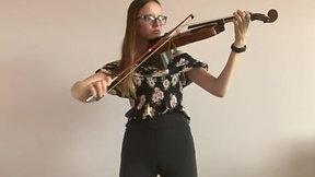 Katharine Hoerle -- violin