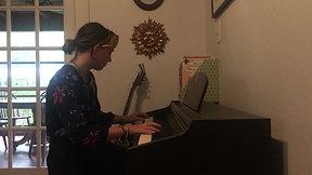 Lucia Morgan. Solfeggio in C minor. Carl Philipp Emanuel Bach