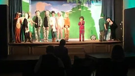 Dress Rehearsal - Peter Pan, Wendy, Michael, Rafe, Nibbles, John, Twins, Tinkerbell, Essence and Foxy