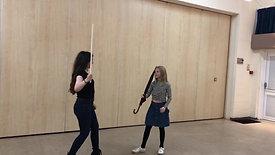 Fight Scene Training - John vs Harry
