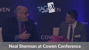 TAGeX Brands- Founder and President, Neal Sherman Presentation & Discussion with Andrew Charles