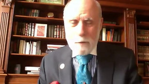 Vint Cerf sends a video message to Parry Aftab