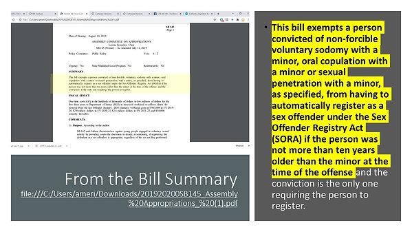 !!ACTION ALERT ON SENATE BILL SB145!!