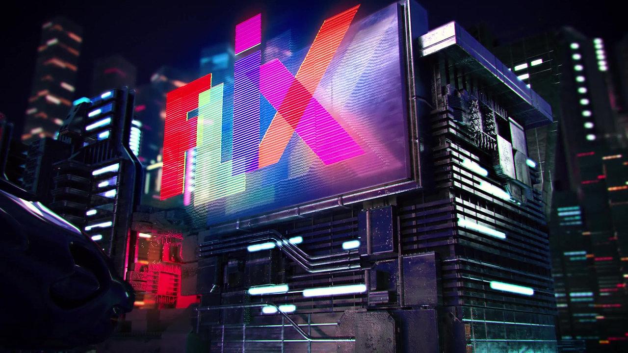Flix Channel - Vinheta Cidade do Futuro