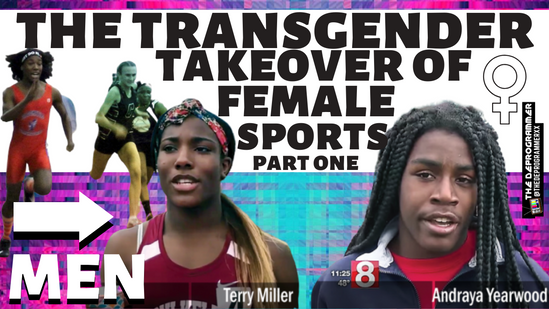 The Transgender Takeover of Female Sports _ Trans Identified Males Beat Women