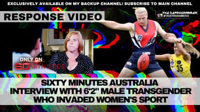 Response Video: Sixty Minutes, Hannah Mouncey