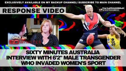 Response Video: Sixty Minutes, Hannah Mouncey