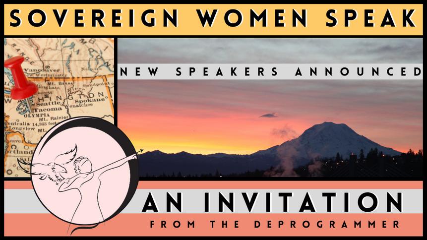Sovereign Women Speak // Updated Speakers