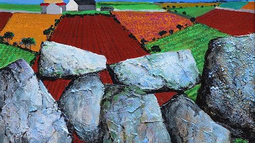 "Resilience through colour: Part III ""Rock Studies"""