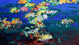 """Resilience through colour: Part V """"Waterlillies"""""""