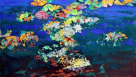 "Resilience through colour: Part VI ""Waterlillies"""