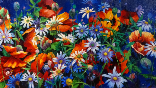 """Resilience through colour: Part II """"Poppies"""""""