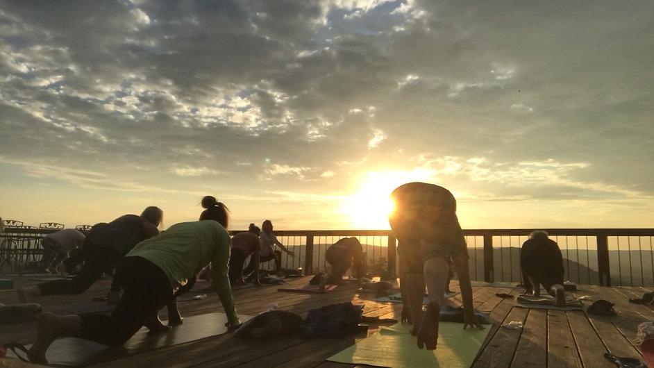 Sunrise Yoga with Angela Cronk