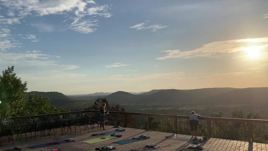 Saturday Morning Views at The Deck House in Eureka Springs, Arkansas (PAUSE)™ Retreat