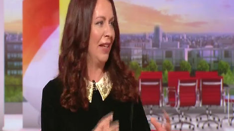 Alice on BBC Breakfast