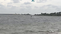 Kiteboarding at Skyway