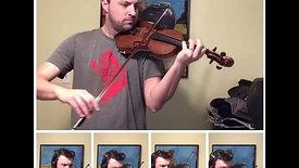 Bach A minor Violin Concerto, First Movement