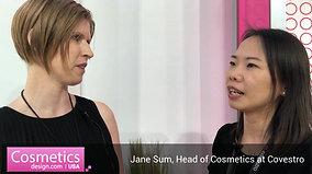 Jane Sum, Head of Cosmetics at Covestro