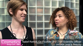Isabell Ramos, Chief Scientific Officer at AYUNA less is beauty