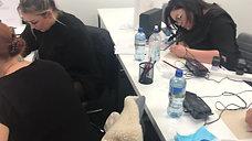 Students on the Lip Tint Basic Training Class
