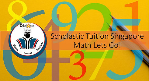 Scholastic Tuition Singapore Math Lets Go! Problem Sums (Fractions)