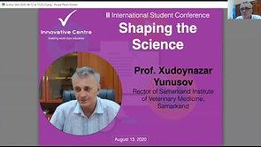 Prof. Xudoynazar Yunusov