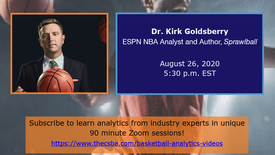 Dr. Kirk Goldsberry (Preview)