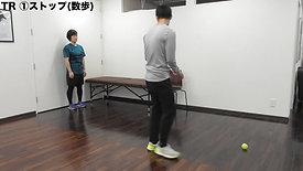 後期 足関節捻挫 ハンドボール アジリティトレーニング