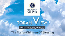 Vayechi 5781 The Torah View - with Rabbi Ruvi New: The Poster Children Of Blessing