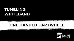 8. One handed cartwheel
