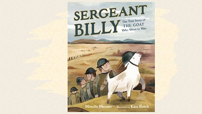 Mireille Messier tells a true story about a goat that was a WWI hero.