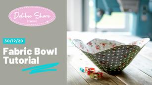 30/12/20 Fabric Bowl