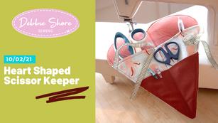 10/02/21 Sewing a scissor keeper