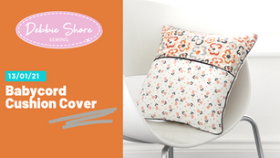 Sew a cushion cover with piping