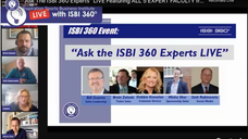 "The ISBI 360 Experts""; LIVE  Featuring ALL 5 EXPERT FACULTY from the ISBI 360 Digital Learning Network"